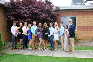 picture of the prom court
