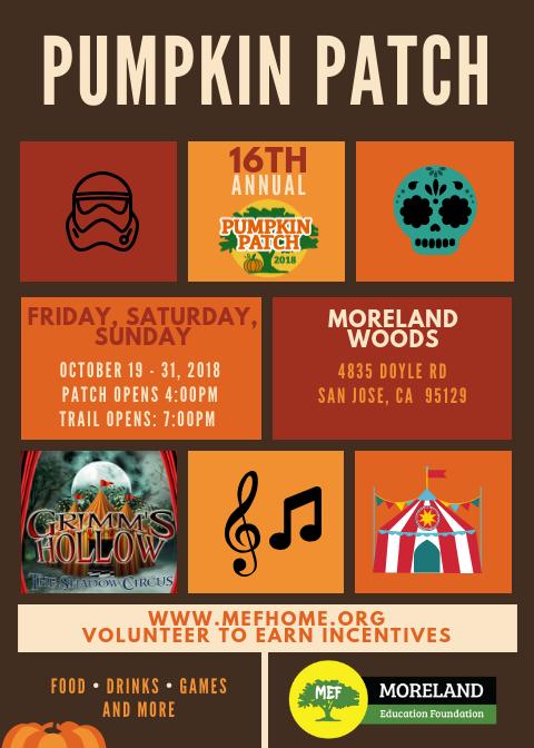 MEF Pumpkin Patch - October 19th-October 31st Thumbnail Image