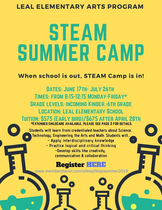 LEAP into STEAM Summer 2019 Featured Photo