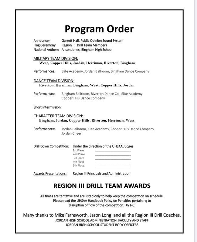 Region III Drill