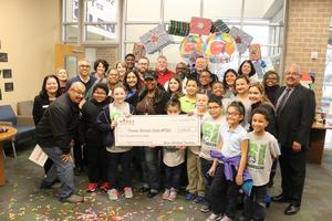 Manor Schoolhouse Foundation awarding grant money.