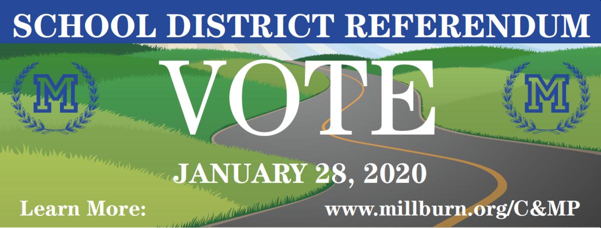 referendum banner - Vote - January 28