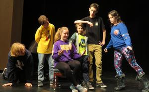 TKMS students portray the Darling family in the upcoming performances of