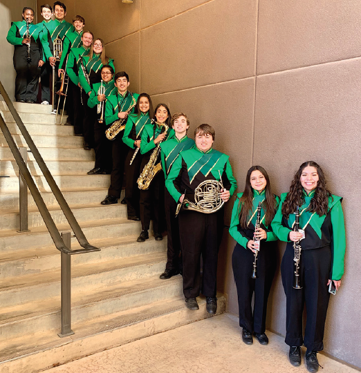 High School Band Students Prepare for ATSSB All Region Featured Photo