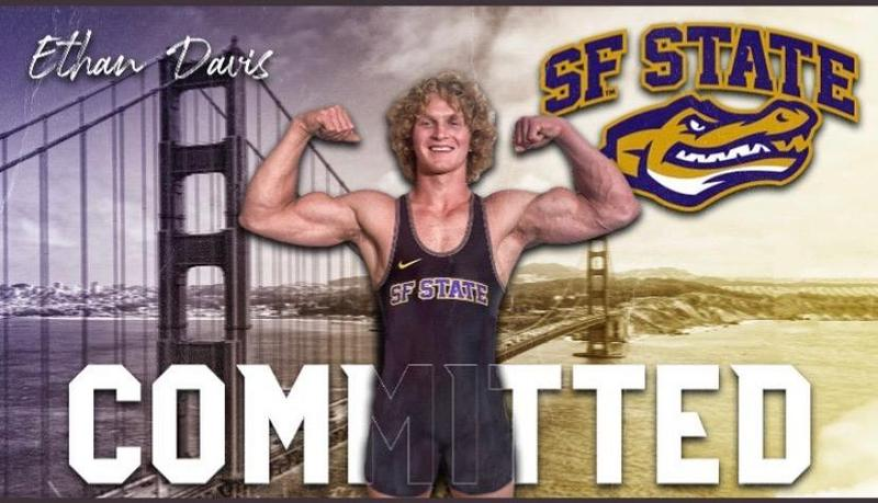 Ethan Davis Commits to San Francisco State University Wrestling Thumbnail Image