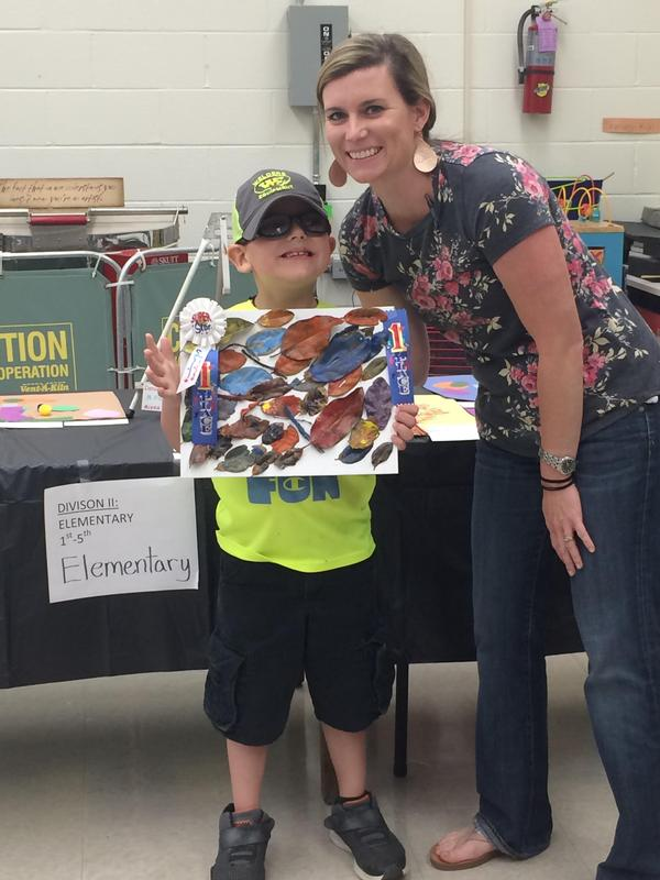 1st place art show winner