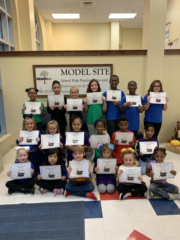 October Students of the Month Featured Photo