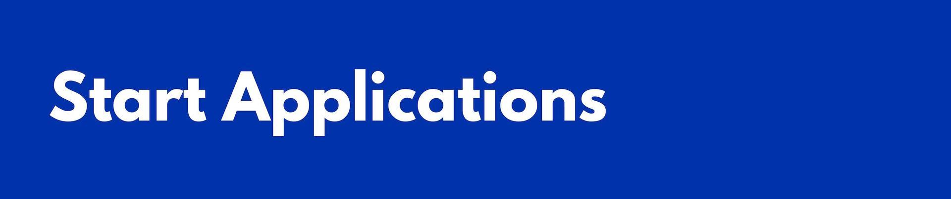Start Applications Header