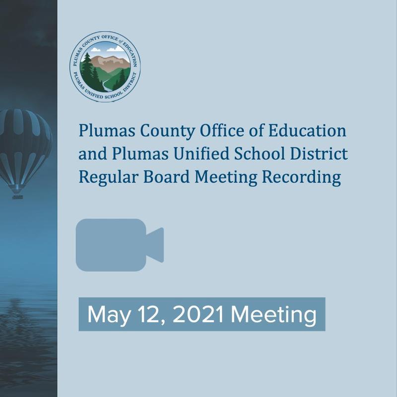 PCOE/PUSD regular board meeting video recording May 12. 2021