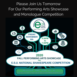 Please Join Us Tomorrow For Our Performing Arts Showcase and Monologue Competition.png