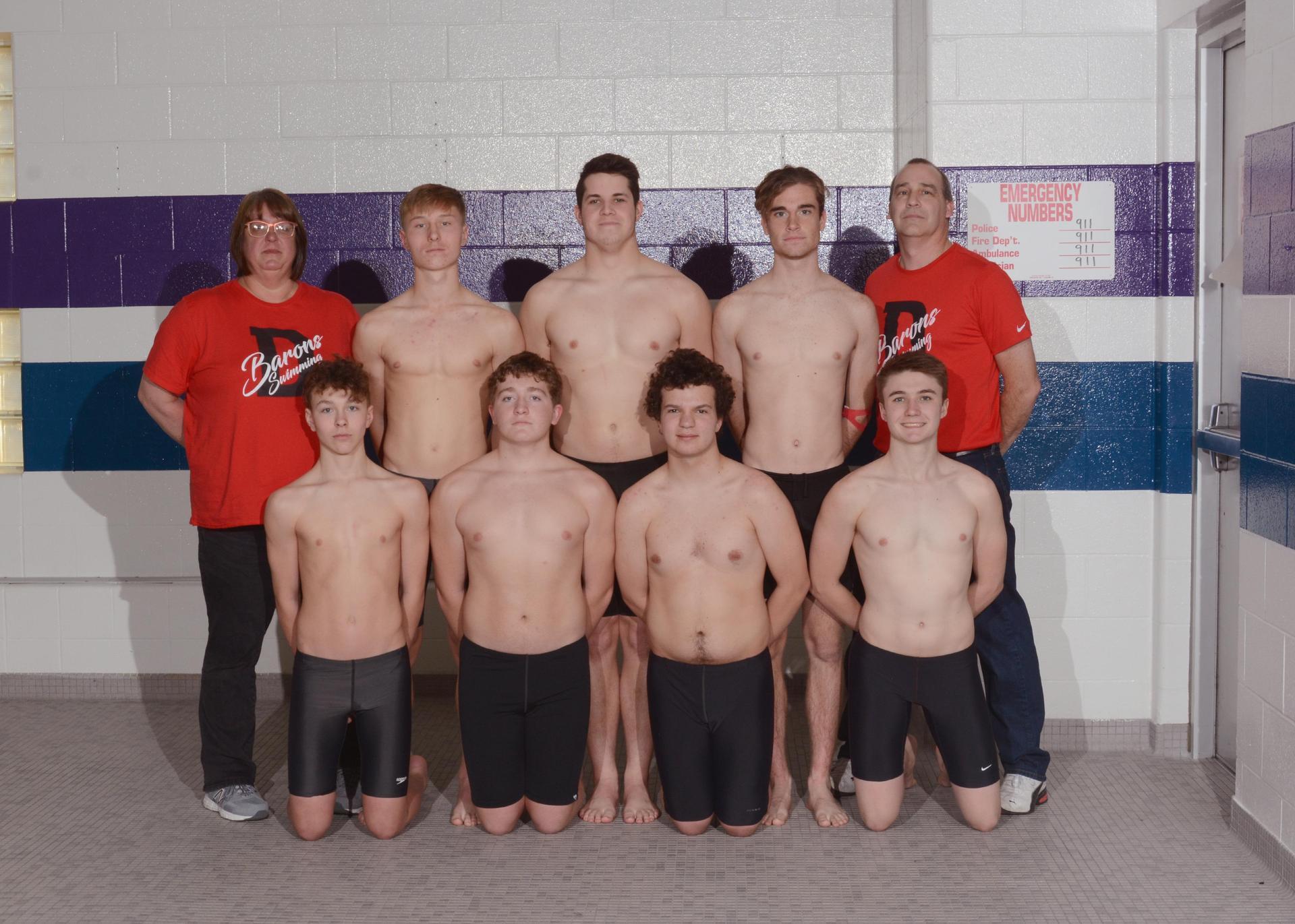 2019-2020 Boys Swim