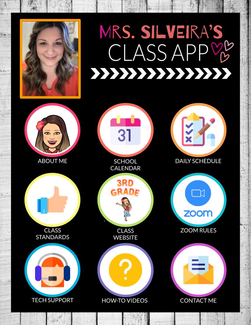 Mrs. Silveira's Virtual App