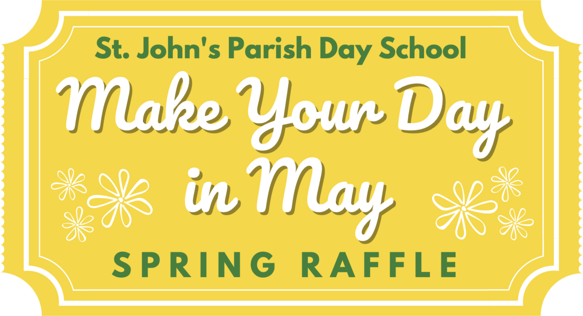 Make Your Day in May Raffle Logo
