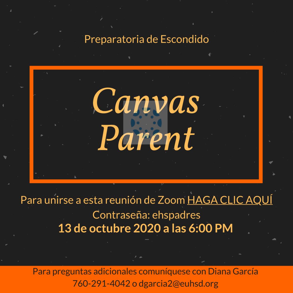 canvas spanish