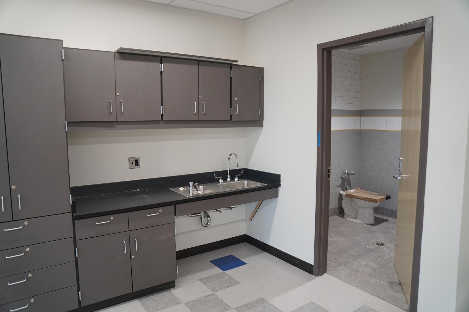 bathroom and class