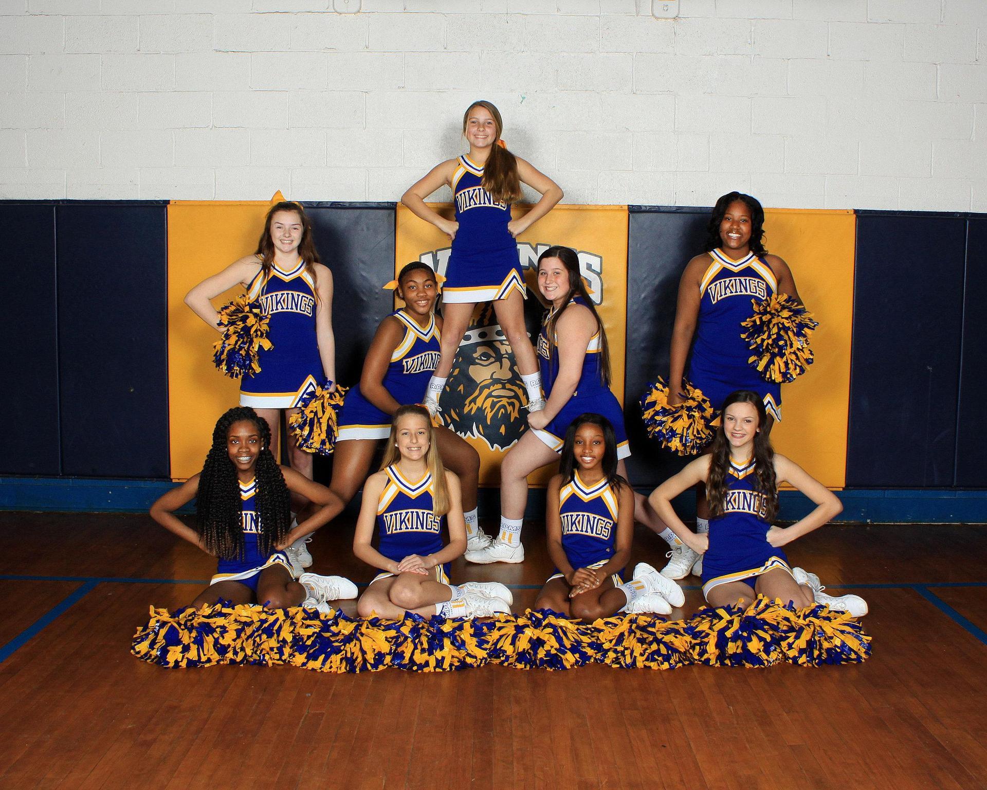 RPMS 2020 Cheerleaders