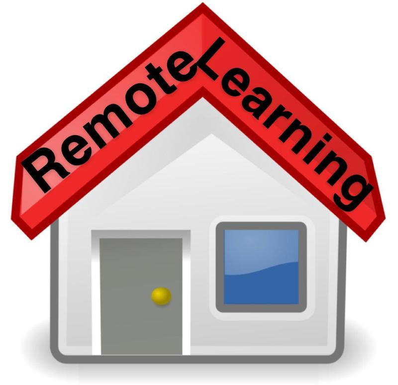 Image icon for remote learning.