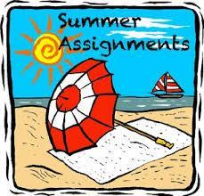 2020 Summer Assignments Thumbnail Image