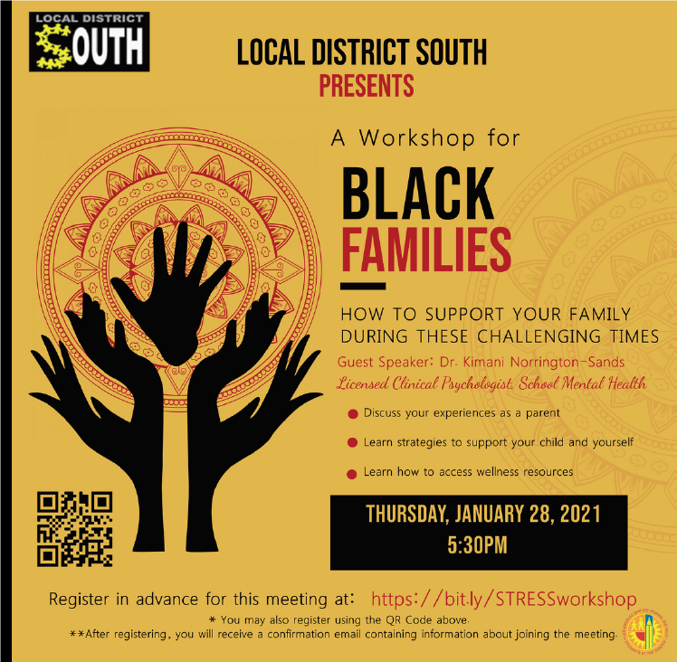 A Workshop to Support Black Families Featured Photo
