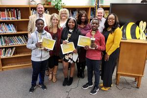 VMS Spelling Bee Winners