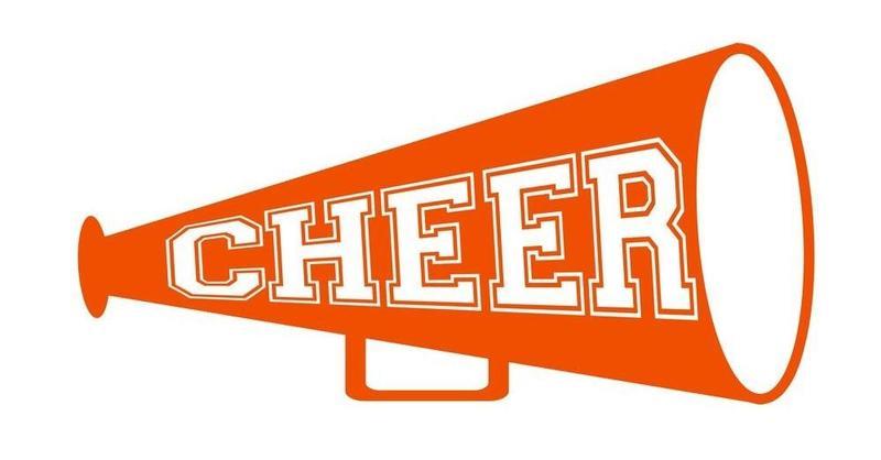 Orange Cheer megaphone