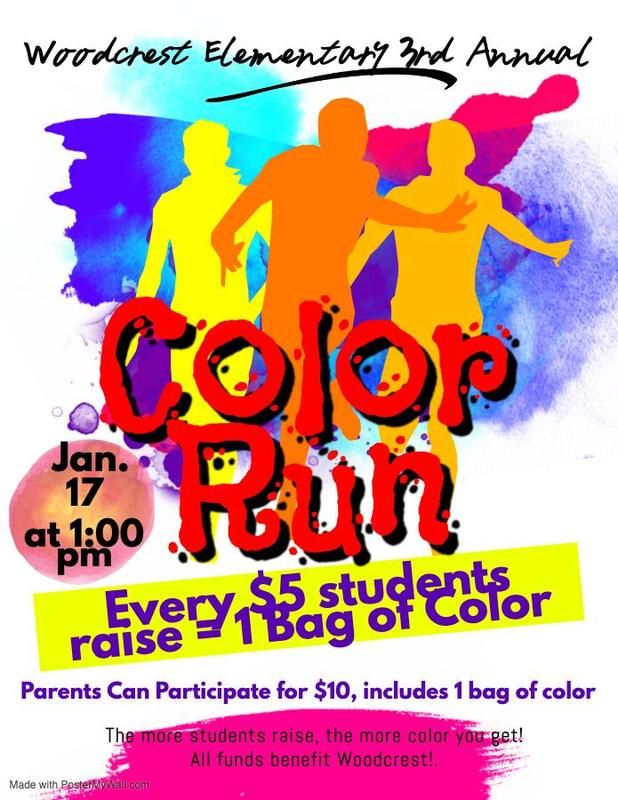 Color Run Information.