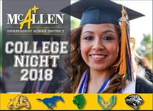 McAllen ISD College Night 2018