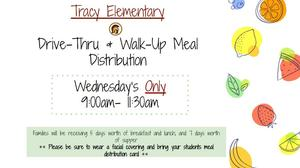Lunch Distribution at Tracy Featured Photo