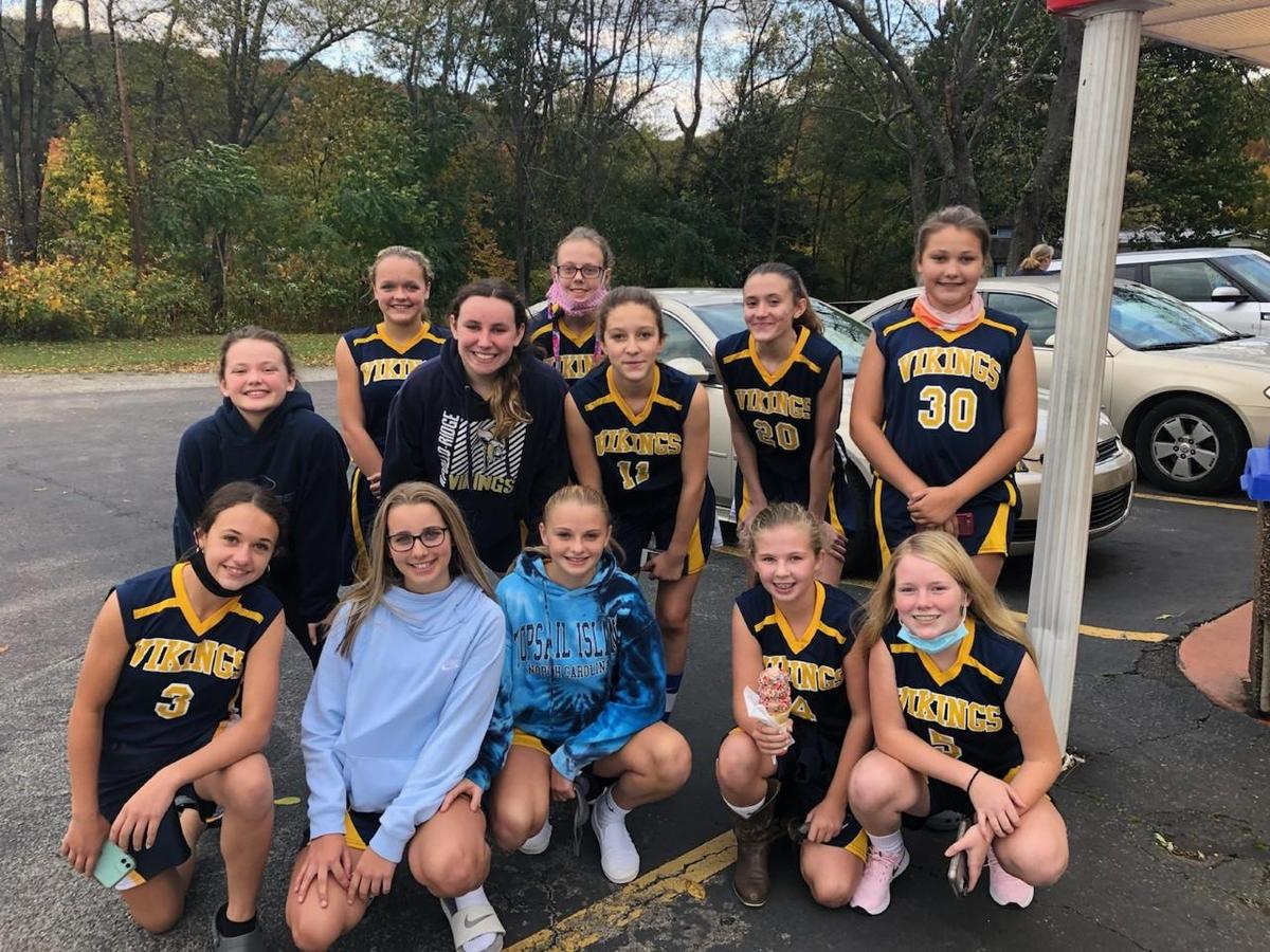 7-8 Girls Basketball Team