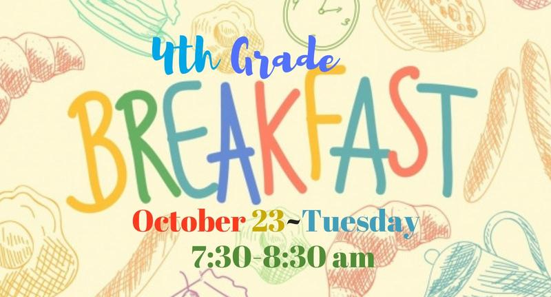 4th Grade Breakfast Featured Photo