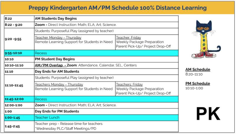 Wagner 2020-2021 Schedule: Preppy K