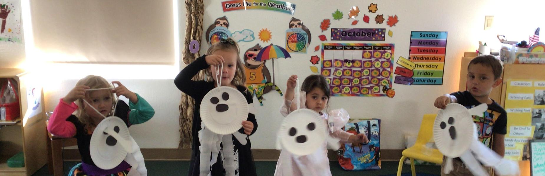 preschoolers and art