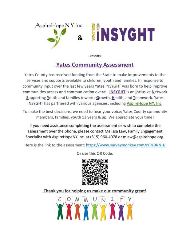 Yates Community Assessment Featured Photo