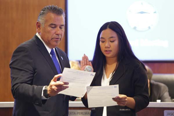 Student Board Member: Vivian Hoang