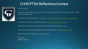 PTSA Reflections Contest 2021
