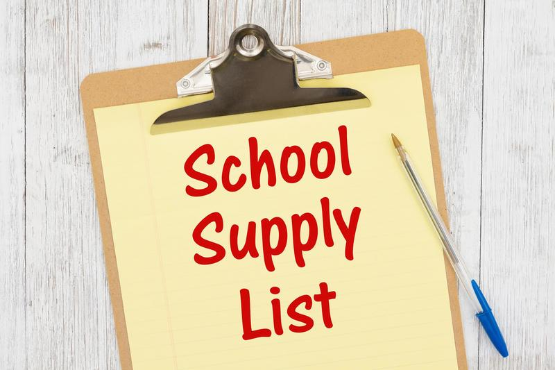 2021-2022 School Supplies Featured Photo