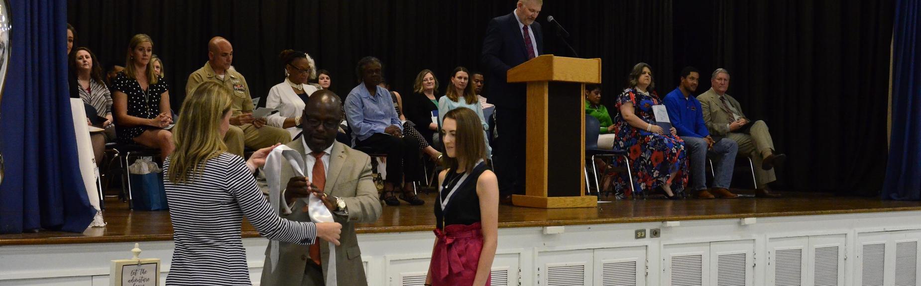 Senior Awards Night Abigail Stephens