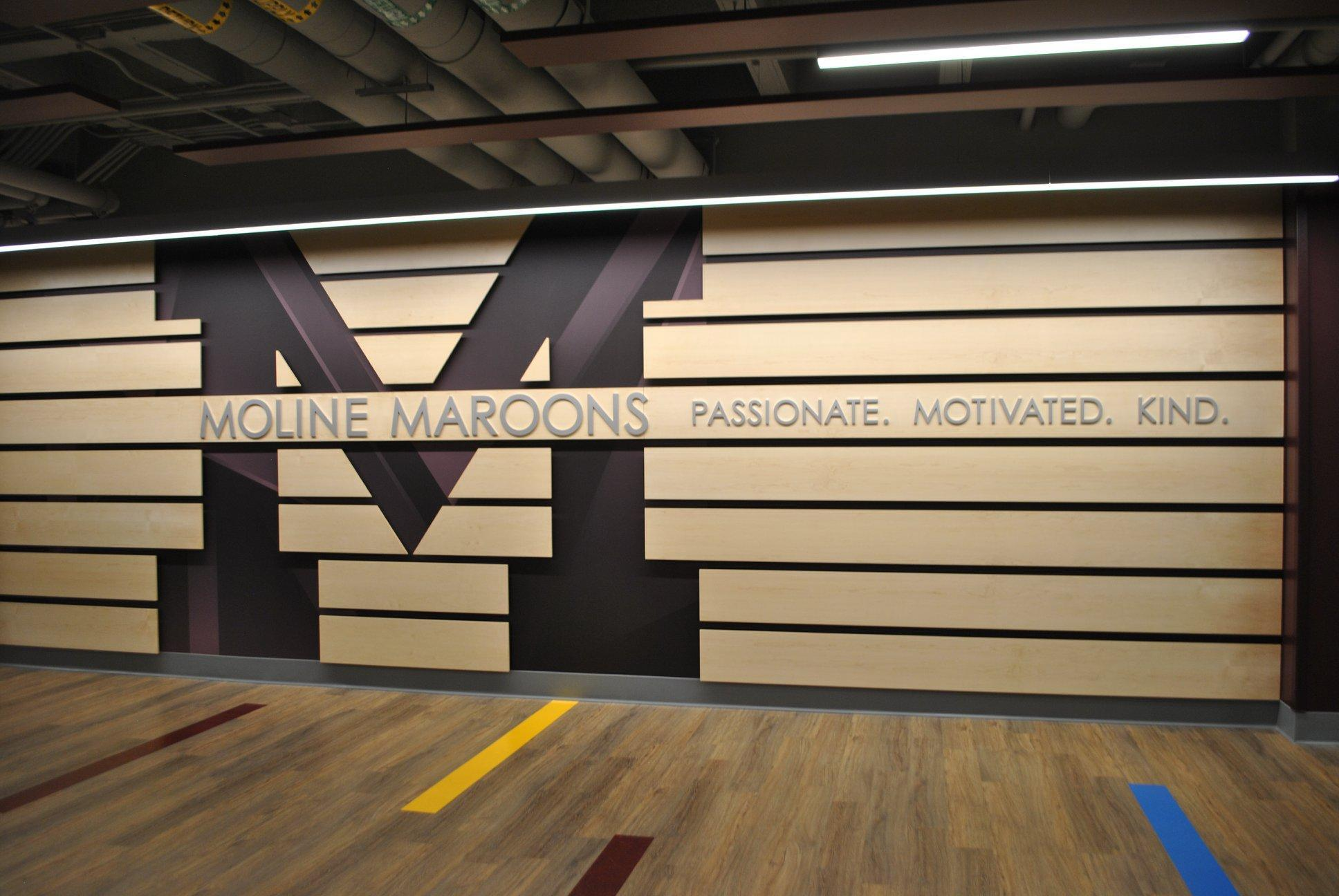 Spotlight on...Moline High School Unveils Our NEW Multi-Purpose Physical Education Facility Image