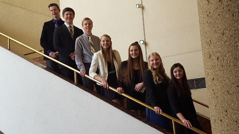 TKHS students attend the BPA state convention and competition.