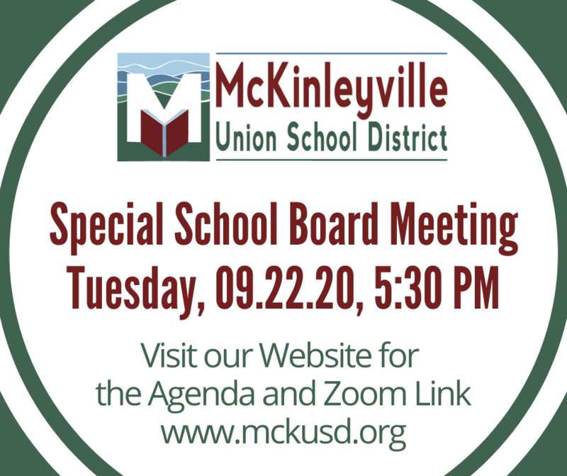 School Board Meeting Flyer