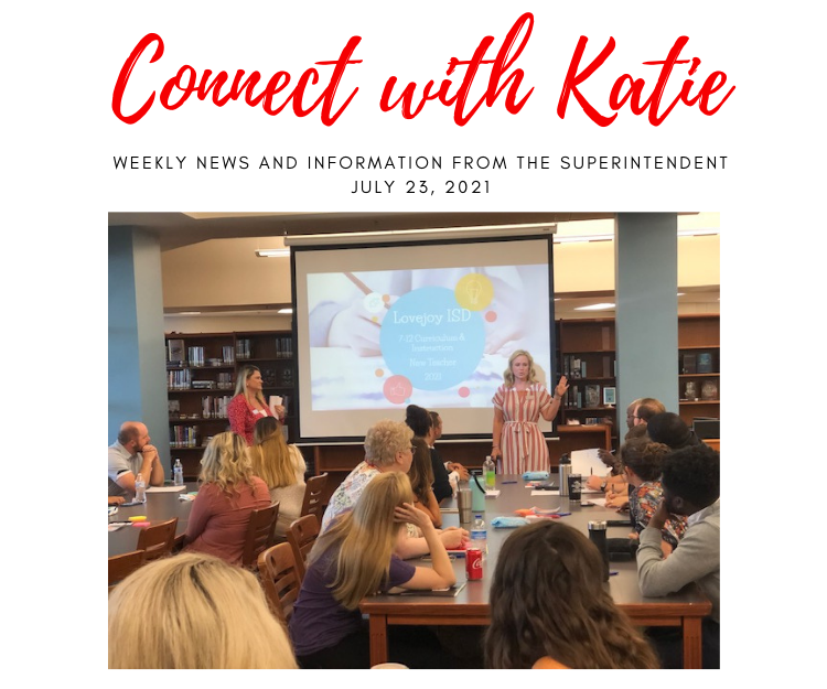 Connect with Katie: July 23, 2021 Featured Photo