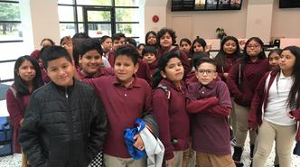6th graders from the Explorer Academy went on a field trip to the Hall of Science.