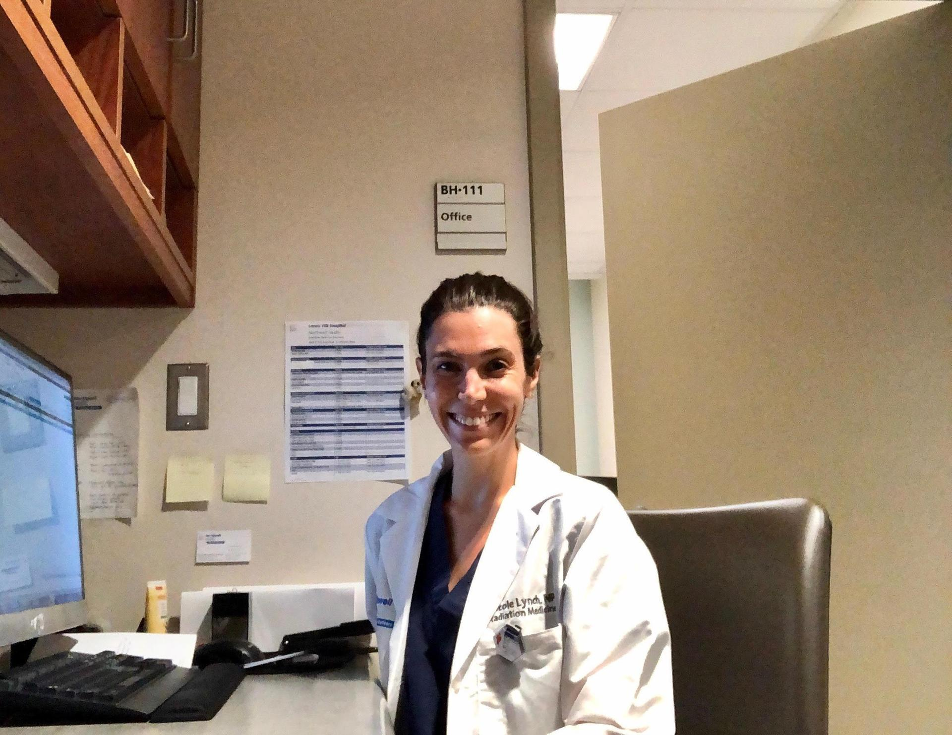 Nicole Ward Lynch FNP working at Lenox Hill Hospital