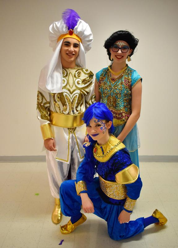 Cast for Aladdin