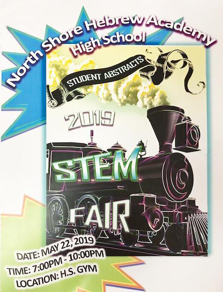 North Shore Hebrew Academy High School Presents Our First Ever S.T.E.M. FAIR! Thumbnail Image