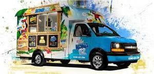 Kona ice truck