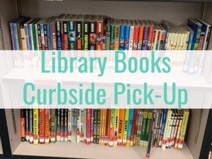 Curbside Pick up Library Books