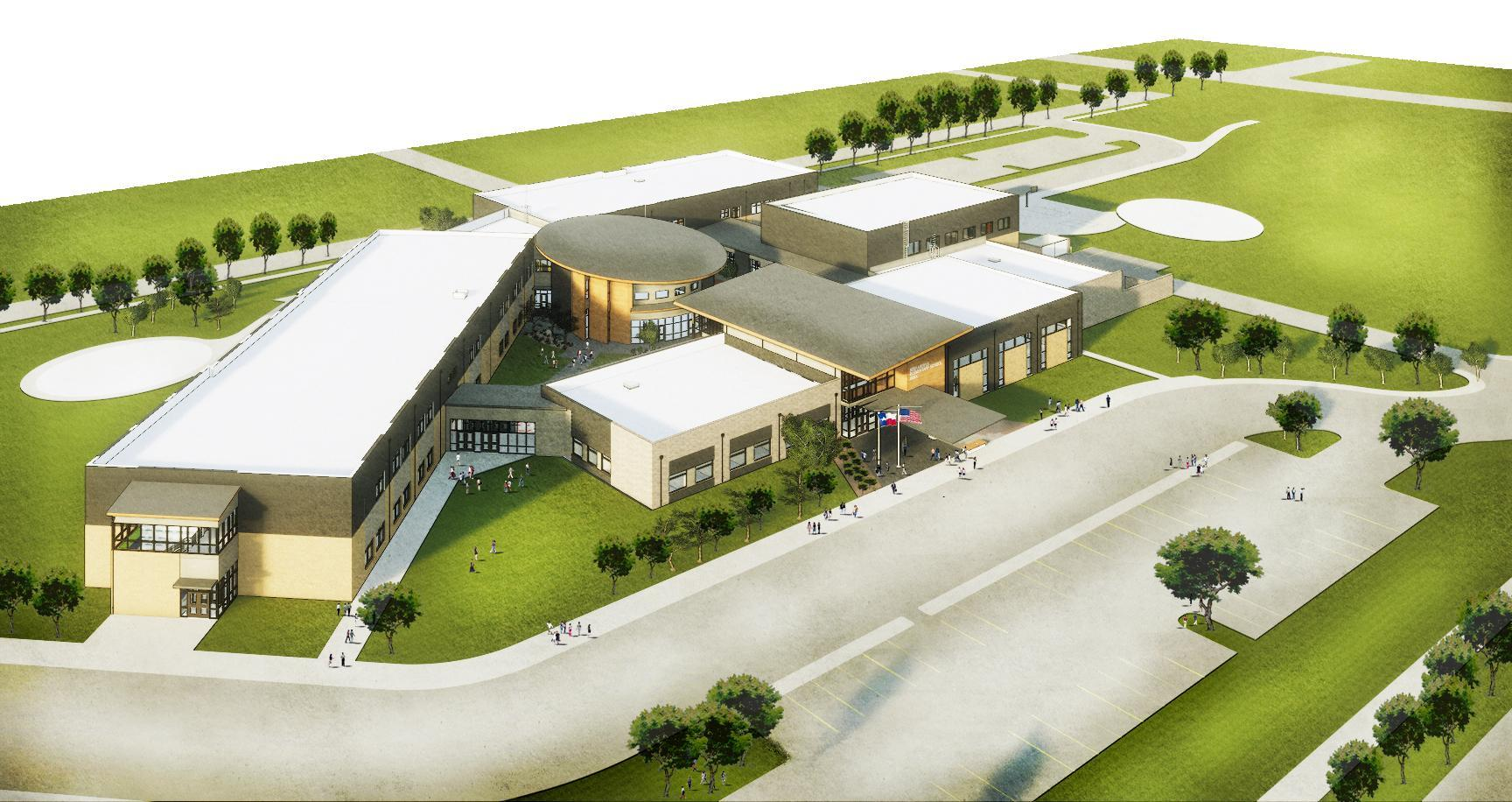 Architectural Drawing of Argyle West Elementary