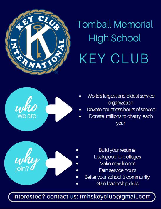Key Club Flyer