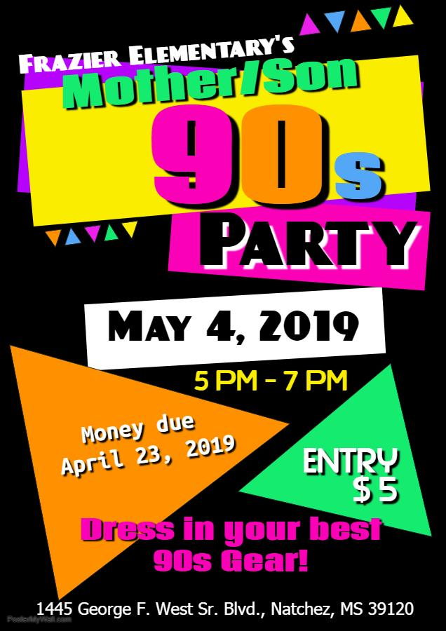 90s Party Invitation